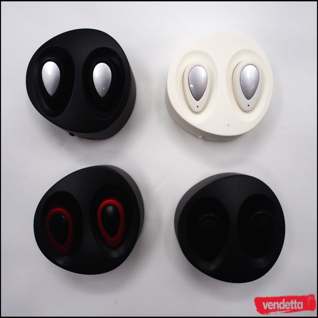 Vendetta Free Stereo Twins Wireless EarBuds
