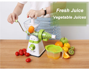 Vendetta Manual Multifunctional Juicer Cum Grinder Interchangeable Heads 2-1!