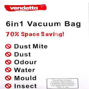 Vendetta Auto Vacuum bag