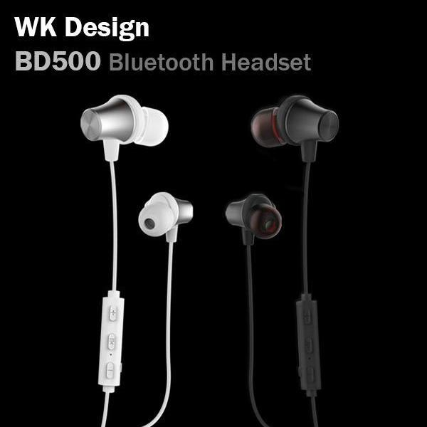 WK Design BD500 Sporty Bluetooth Headset Earphone Wireless Android Micro USB