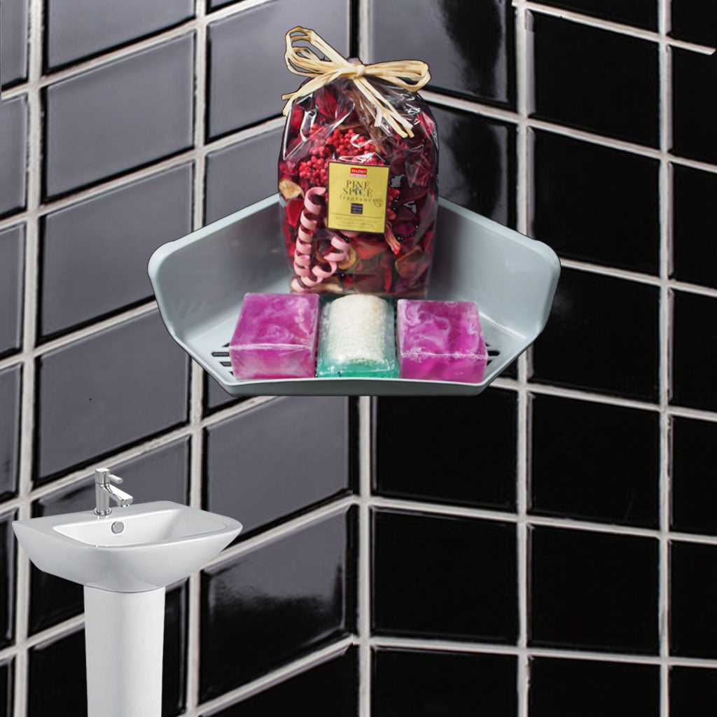 Toiletry & Kitchenette Organizing Hanger (Mei Jia Jia) 911 Corner Storage Rack