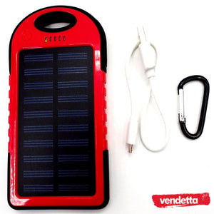 Solar Powered Power Bank Version 2.0