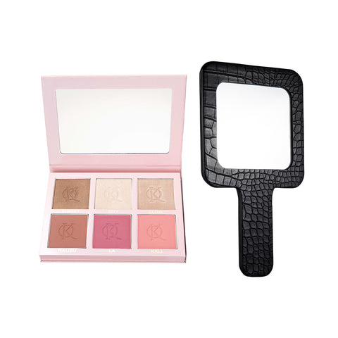 BLUSH AND SHINE KIT II & MIRROR BUNDLE
