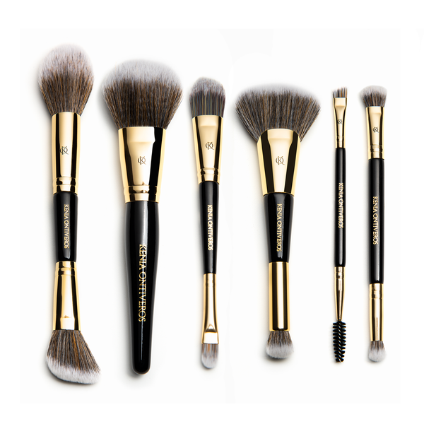 6 Piece Dual Ended Brush Set