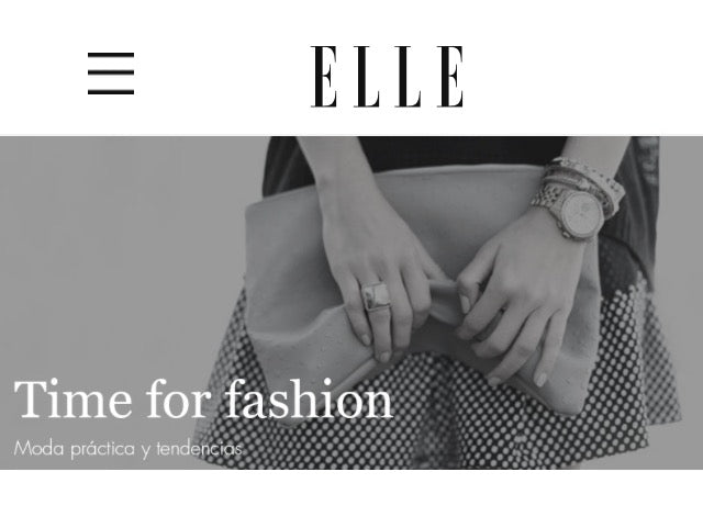 ELLE - TIME FOR FASHION