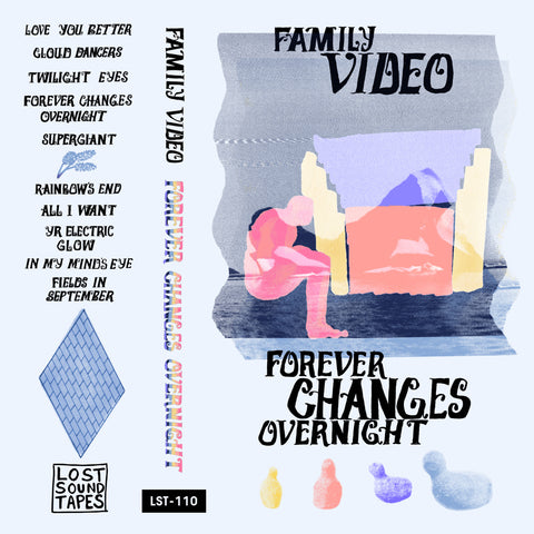 "FAMILY VIDEO ""Forever Changes Overnight"" cassette tape"