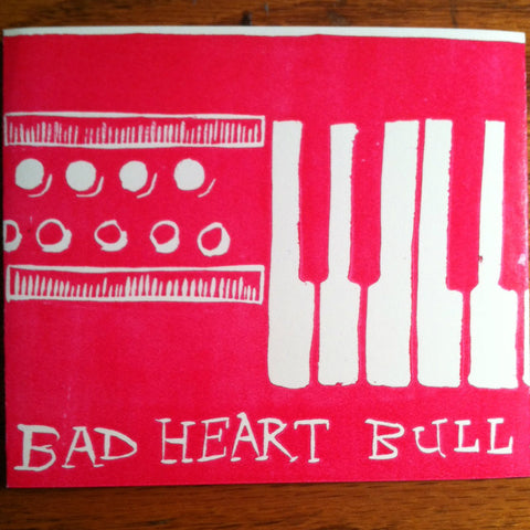 "BAD HEART BULL ""ACHORDORGAN"" CD"