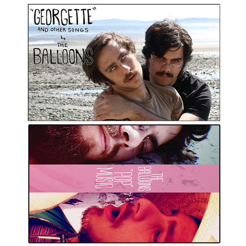 "THE BALLOONS ""Georgette / Pop Music"" cassette tape"