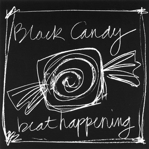 "BEAT HAPPENING ""Black Candy"" CD"