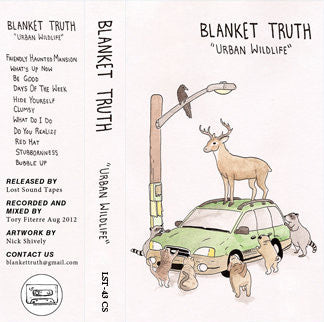 "BLANKET TRUTH ""Urban Wildlife"" cassette tape / CD"