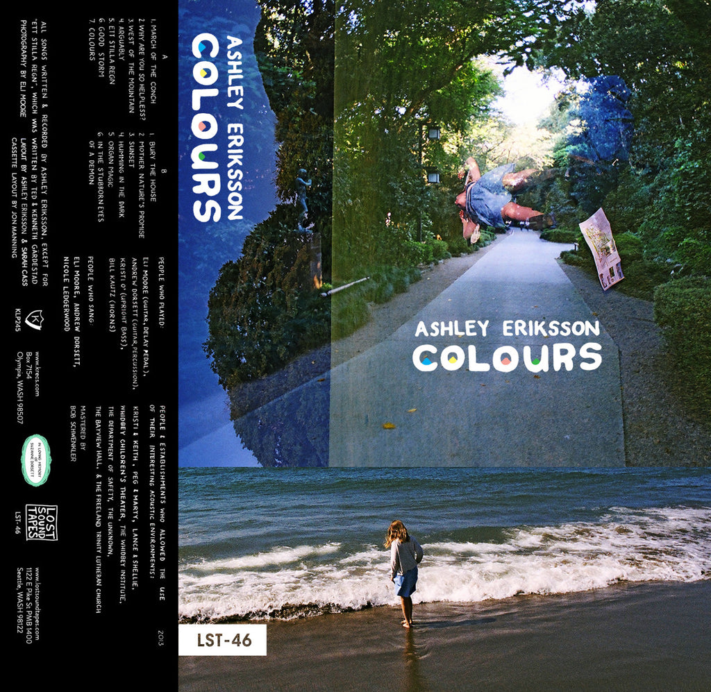 "ASHLEY ERIKSSON ""Colours"" cassette tape"