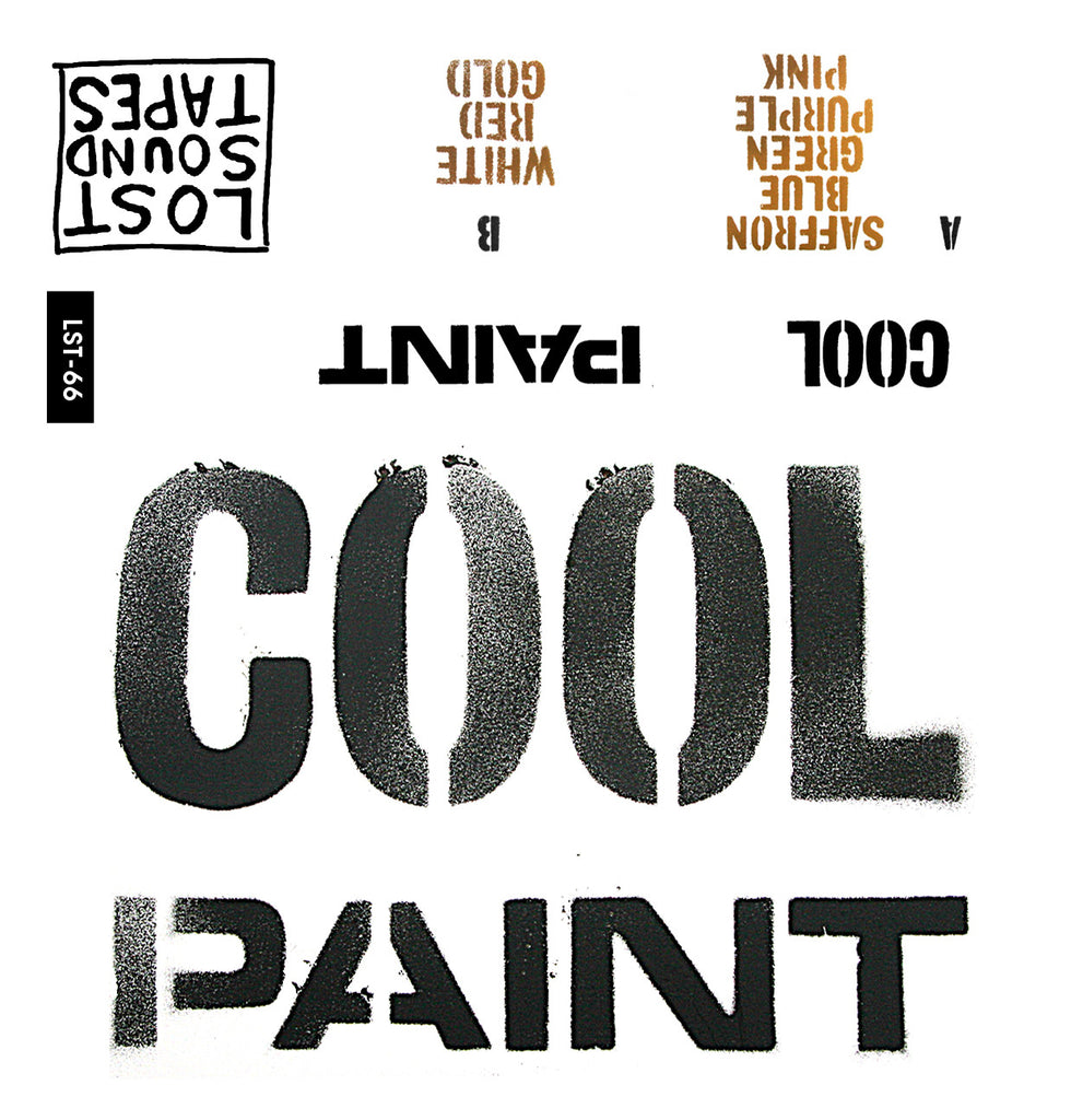 "COOL ""Paint"" cassette tape"