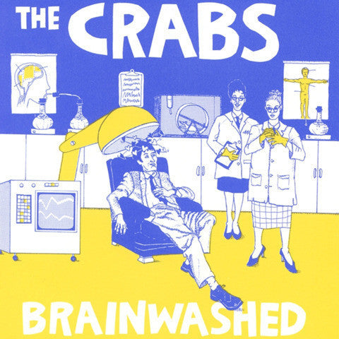 "THE CRABS ""Brainwashed"" CD"