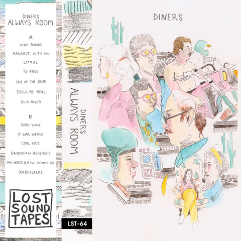"DINERS ""Always Room"" cassette tape"