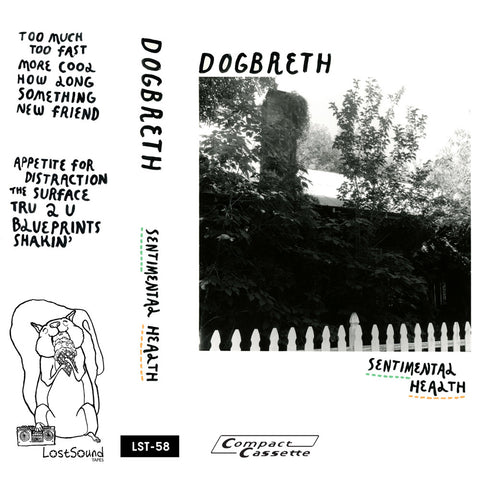 "DOGBRETH ""Sentimental Health"" cassette tape"
