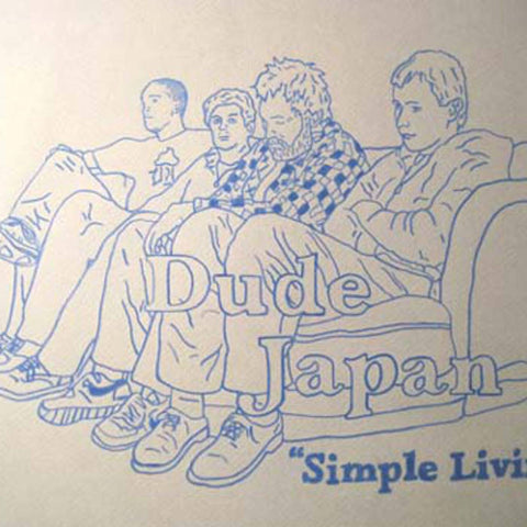 "DUDE JAPAN ""Simple Living"" CD"