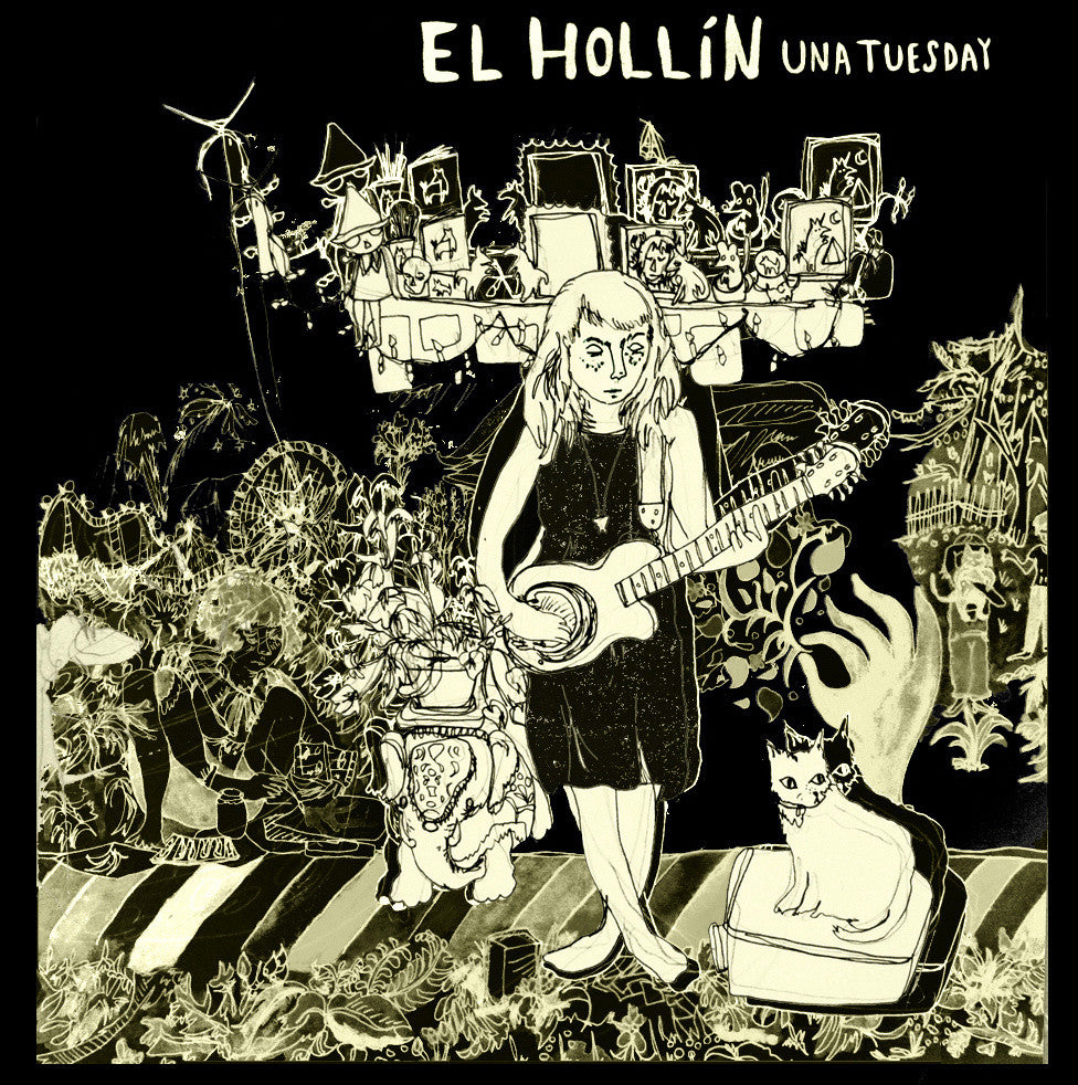 "EL HOLLÍN ""Una Tuesday"" cassette tape"