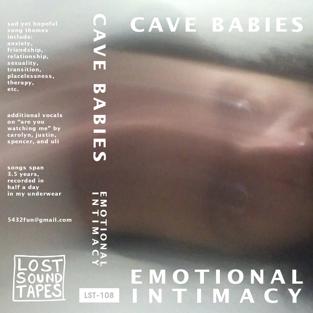"CAVE BABIES ""Emotional Intimacy"" cassette tape"