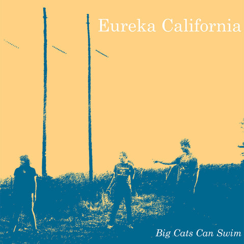 "EUREKA CALIFORNIA ""Big Cats Can Swim"" cassette tape / vinyl LP"