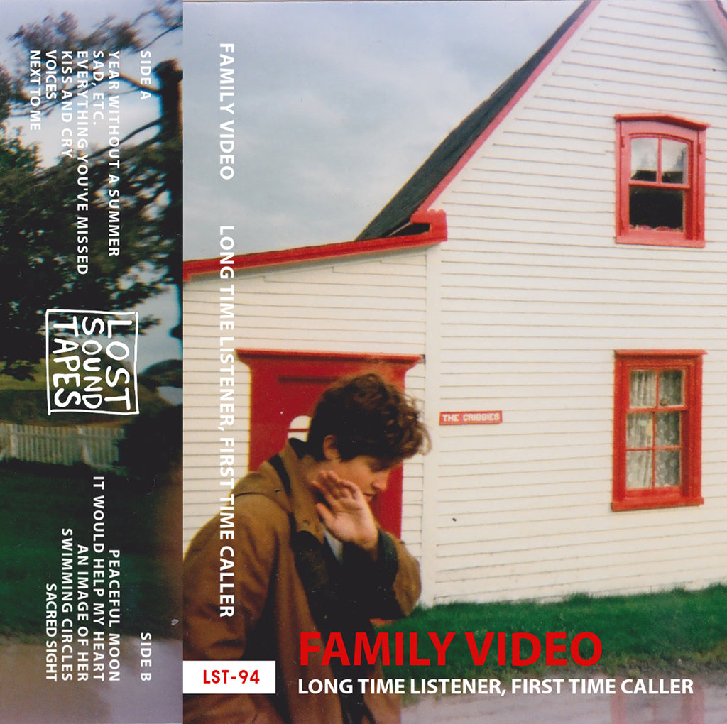 "FAMILY VIDEO ""Long Time Listener, First Time Caller"" cassette tape"