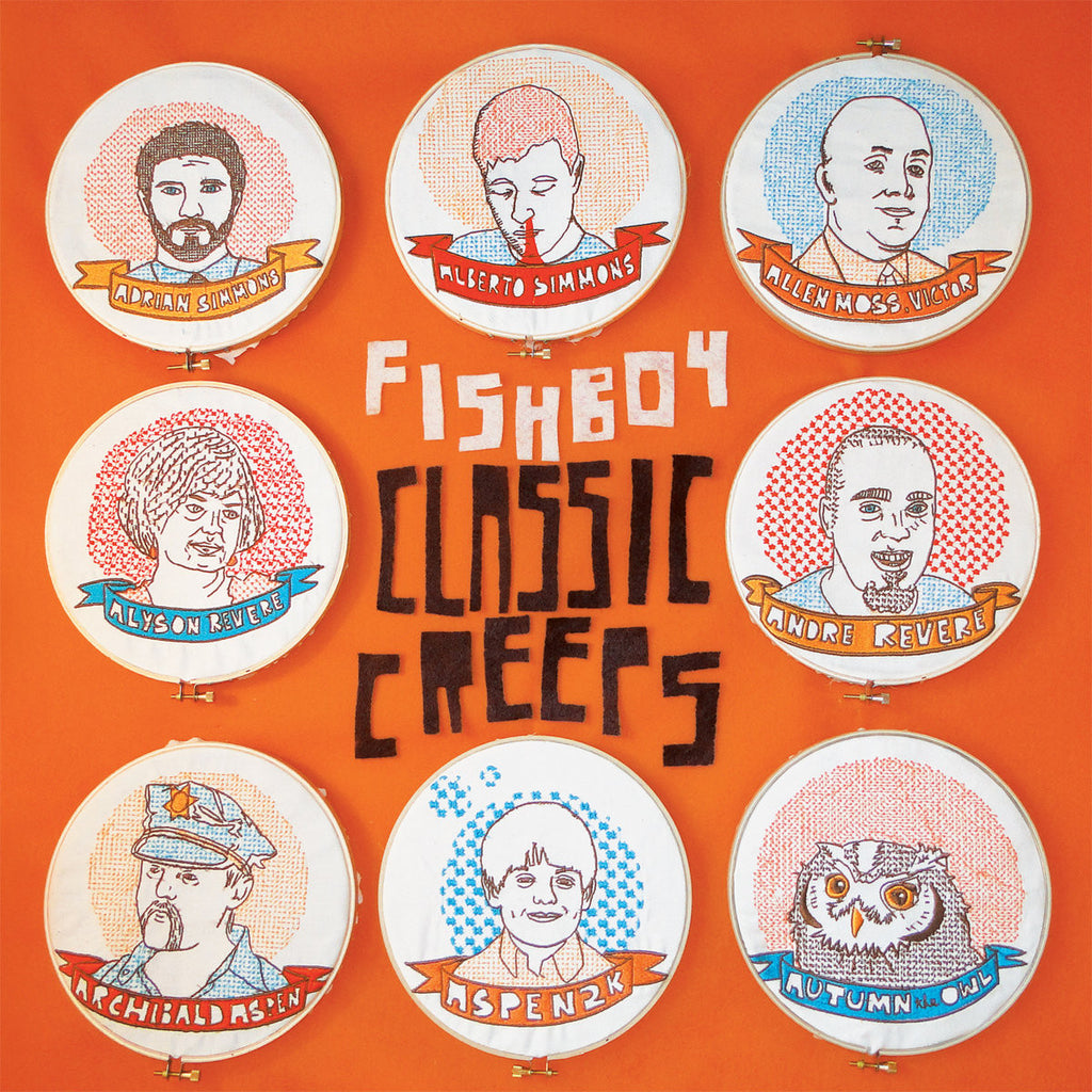 "FISHBOY ""Classic Creeps"" vinyl LP"