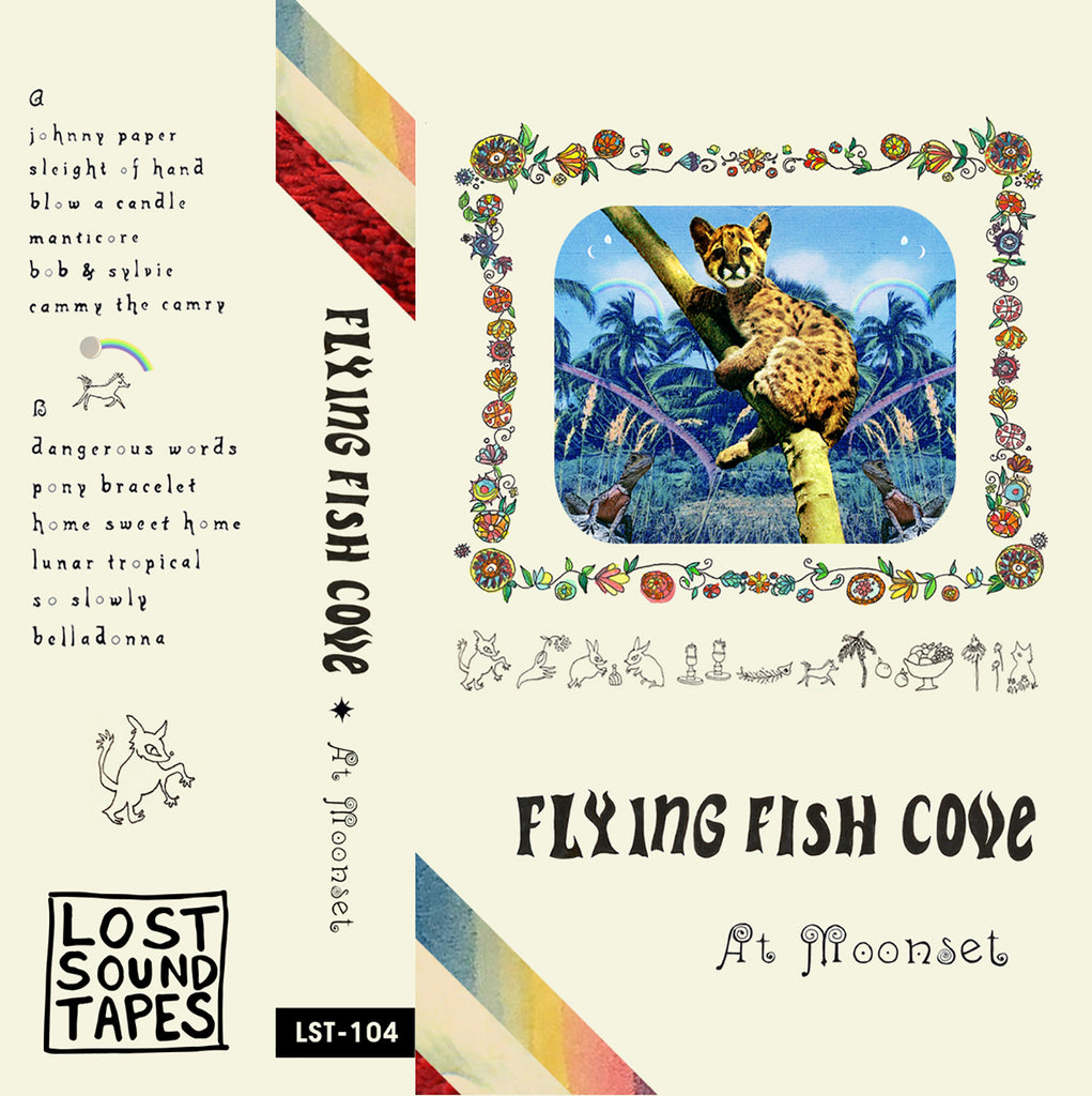 "FLYING FISH COVE ""At Moonset"" cassette tape"