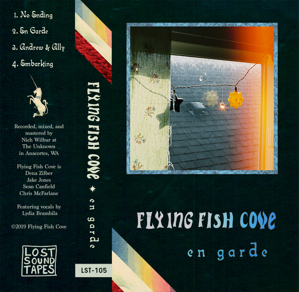"FLYING FISH COVE ""En Garde"" cassette tape"