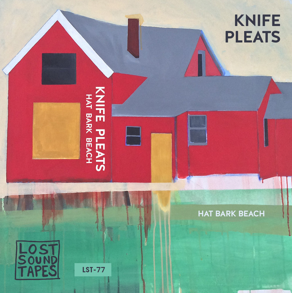 "KNIFE PLEATS ""Hat Bark Beach"" vinyl LP / cassette tape"