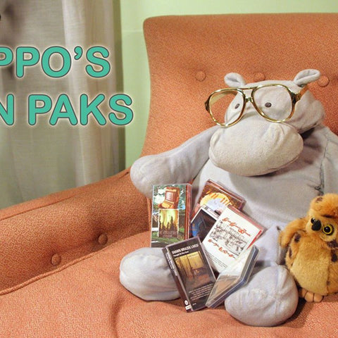 HIPPO'S FUN PAKS - 5 tapes for the price of 4