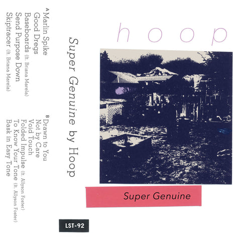"HOOP ""Super Genuine"" cassette tape"