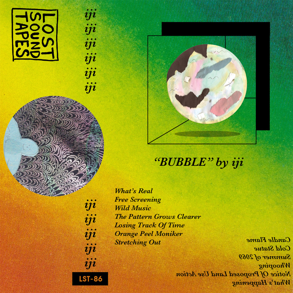 "IJI ""Bubble"" cassette tape"