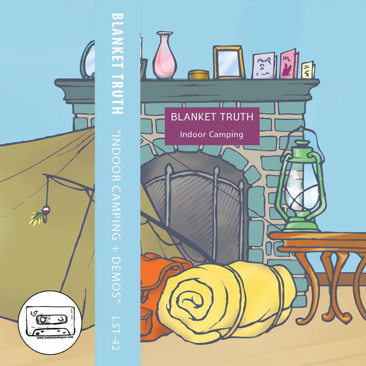 "BLANKET TRUTH ""Indoor Camping"" cassette tape / CD"