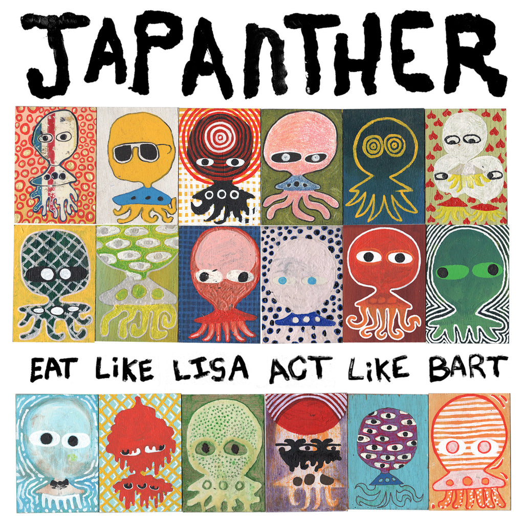 "JAPANTHER ""Eat Like Lisa Act Like Bart"" CD"