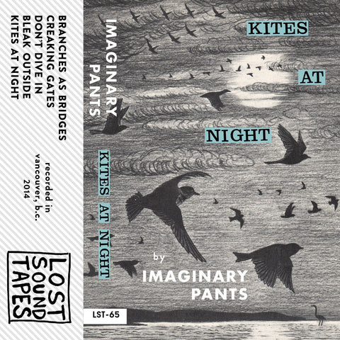 "IMAGINARY PANTS ""Kites At Night EP"" cassette tape"
