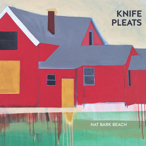 "KNIFE PLEATS ""Hat Bark Beach"" CD"
