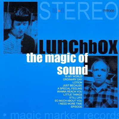 "LUNCHBOX ""The Magic Of Sound "" CD"