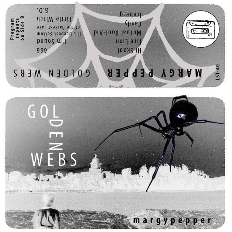 "MARGY PEPPER ""Golden Webs"" cassette tape"