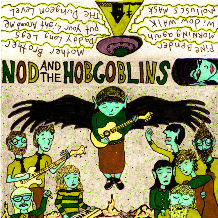 "NOD AND THE HOB GOBLINS ""Nod and the Hob Goblins"" cassette tape"
