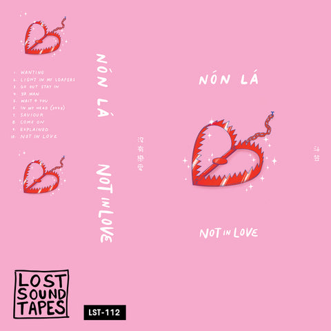 "NON LA ""Not In Love"" cassette tape"