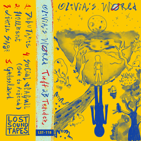 "OLIVIA'S WORLD ""Tuff 2B Tender EP"" cassette tape"