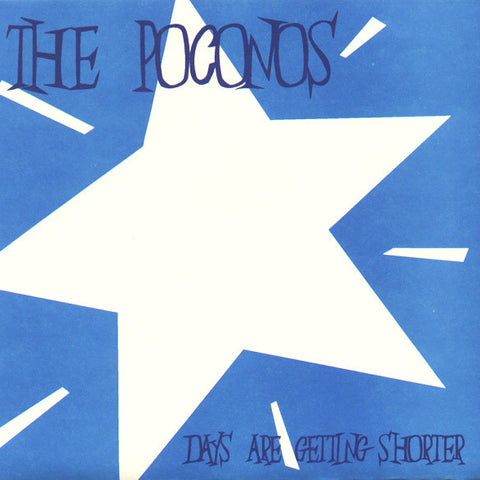 "POCONOS ""Days Are Getting Shorter"" seven inch record"