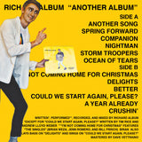 "RICHARD ALBUM ""Another Album"" cassette tape"