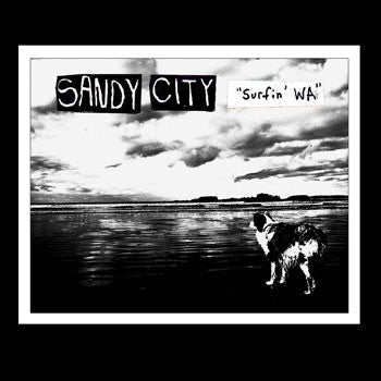 "SANDY CITY ""Surfin' WA"" one-sided vinyl LP"
