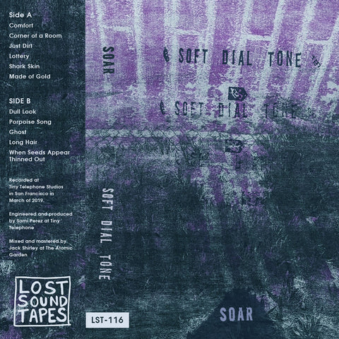 "SOAR ""Soft Dial Tone"" cassette tape"