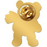 THE SOFTIES enamel lapel pin