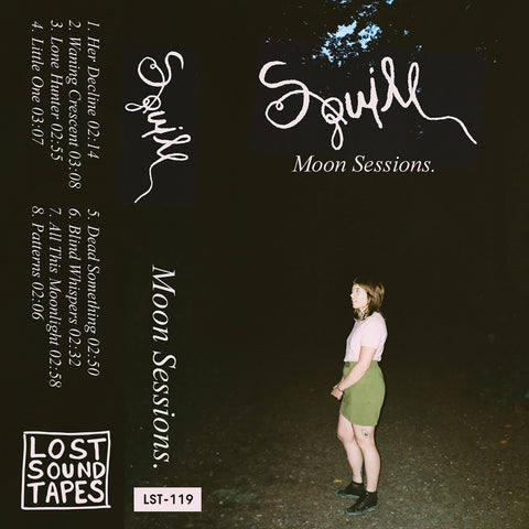 "PRE-ORDER | SQUILL ""Moon Sessions"" cassette tape"