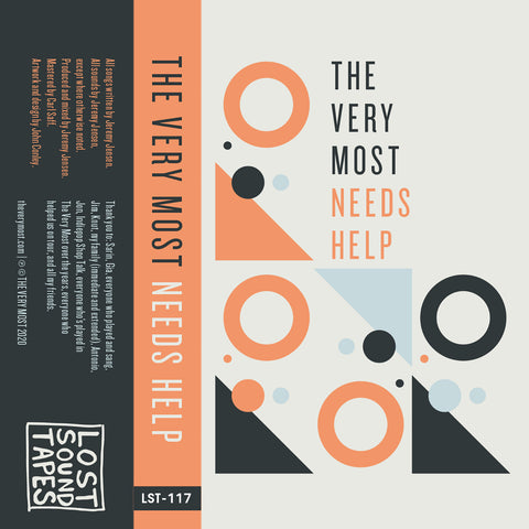 "THE VERY MOST ""Needs Help"" cassette tape"