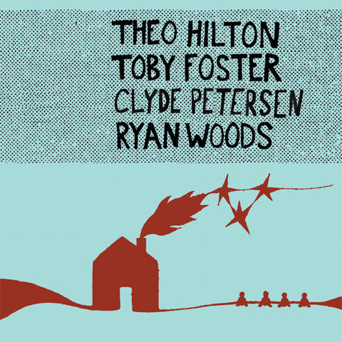 "THEO, TOBY, CLYDE, AND RYAN ""Theo, Toby, Clyde, and Ryan"" vinyl LP"