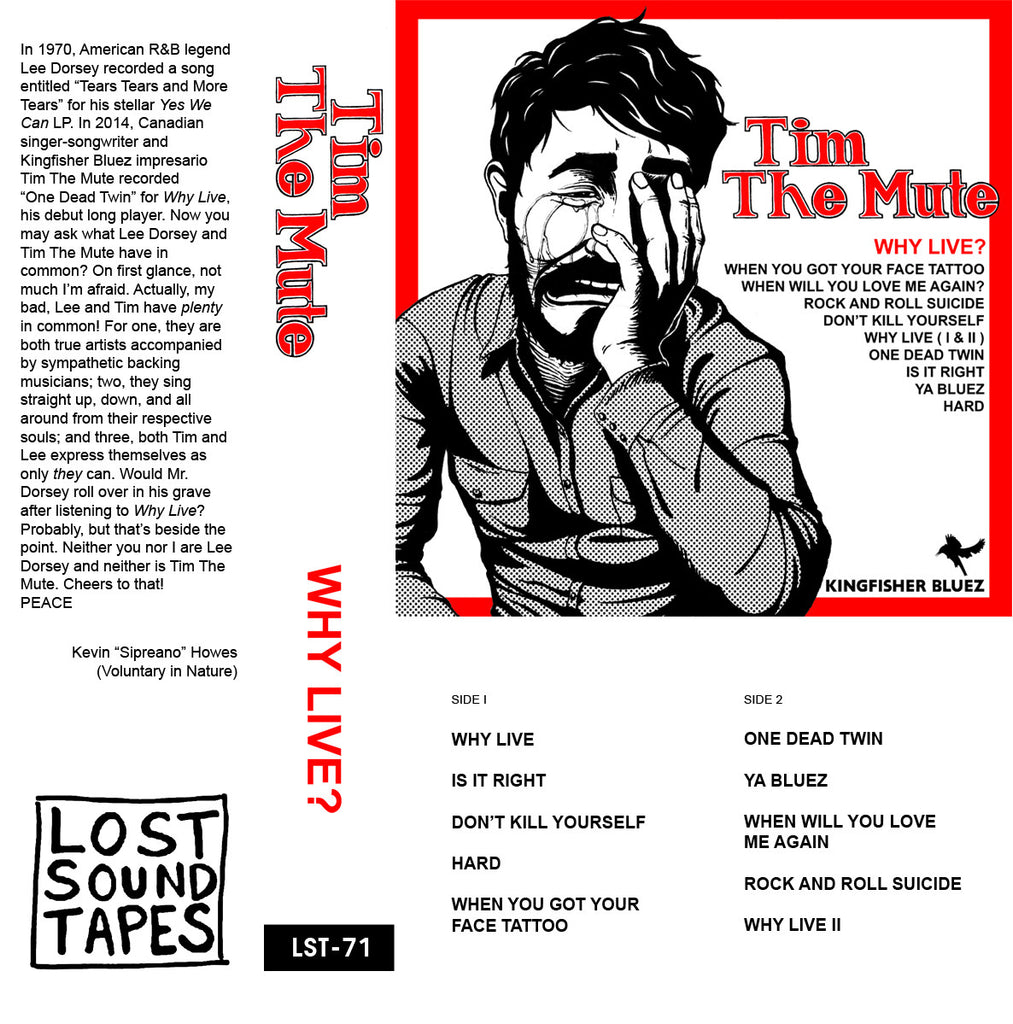 "TIM THE MUTE ""Why Live?"" cassette tape"
