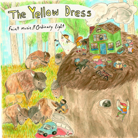 "YELLOW DRESS ""Faint Music // Ordinary Light"" vinyl LP"